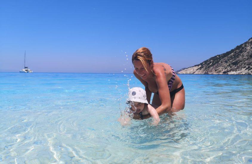 Prvi put sa bebom na moru